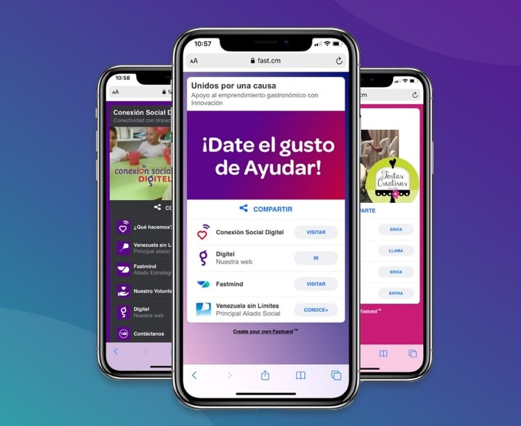 Conexión Social Digitel y FastMind se unen para ayudar al emprendimiento gastronómico en Venezuela
