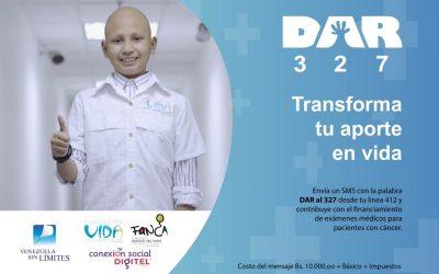 Conexión Social Digitel y Venezuela Sin Límites inician la segunda campaña DAR de 2020