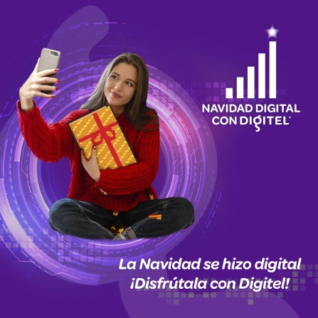 Computadora, Tablet y dispositivo móvil muestran en su pantalla Digitel en Línea
