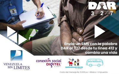 Conexión Social Digitel apoya la campaña DAR a beneficio de Panabus
