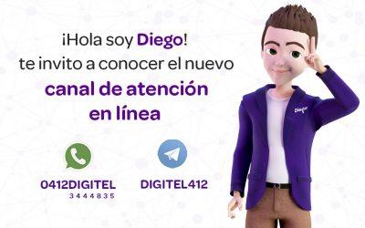 Digitel habilita un nuevo canal de atención en línea