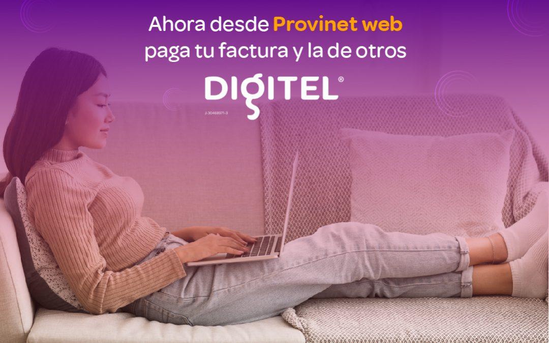Digitel ofrece la opción de pago de facturas a través del BBVA Banco Provincial